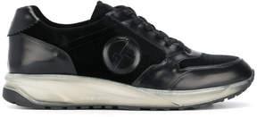 Giorgio Armani panelled sneakers