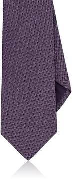 Ralph Lauren Purple Label Men's Circle & Dot-Print Mulberry Silk Necktie