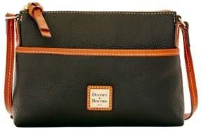 Dooney & Bourke Pebble Grain Ginger Pouchette Shoulder Bag - BLACK - STYLE