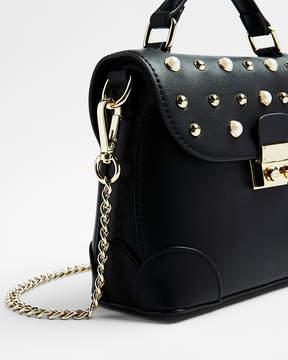 Express Studded Top Handle Crossbody Bag