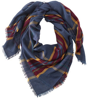 L.L. Bean Lightweight Wool-Blend Scarf, Plaid