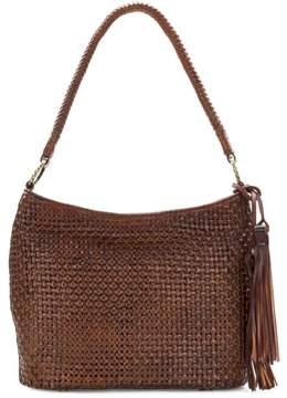 Patricia Nash Marcelli Woven Leather Hobo