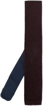 Ermenegildo Zegna honeycomb knit tie
