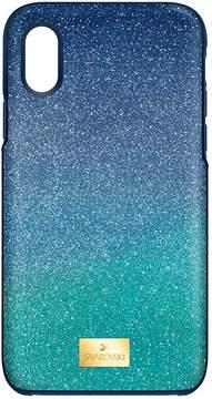 Swarovski High Ombre Smartphone Case with Bumper, iPhone X, Green