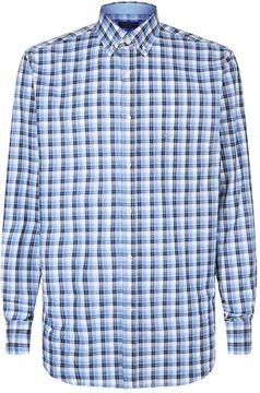 Paul & Shark Tonal Check Shirt