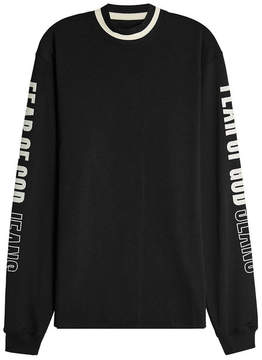 Fear Of God Motocross Jersey Top with Mesh