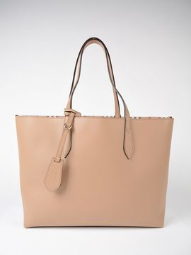 Burberry Medium Reversible Tote - BROWN - STYLE
