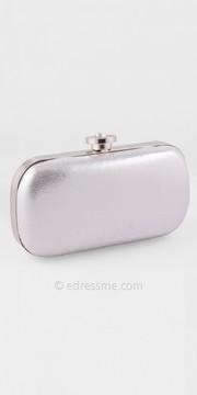 Camille La Vie Oval Shimmer Fabric Handbag
