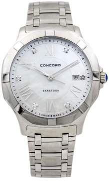 Concord Saratoga 0320156 Stainless Steel Quartz 40mm Unisex Watch