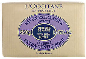 L'Occitane Shea Butter Extra Gentle Soap Lavender, 8.8 oz