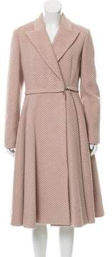 Christian Dior Convertible Wool Coat