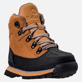 Timberland Boys' Grade School Euro Hiker Shell Toe Boots