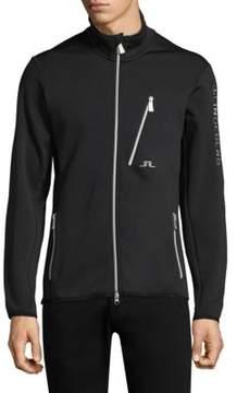 J. Lindeberg Ski Performance Jersey Zip Up Jacket