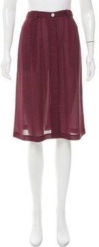 Steven Alan Silk Square Skirt