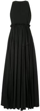 Dice Kayek pleated evening dress