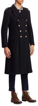 Kent & Curwen Grant Wool Overcoat