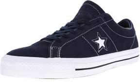Converse Unisex One Star Pro Ox Obsidian/Obsidian/White Skate Shoe 8 Men US / 10 Women US