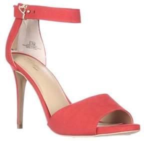 Thalia Sodi Ts35 Jose Ankle Strap Sandals, Hibiscus.