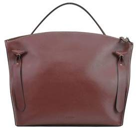 Jil Sander Women's Brown Leather Handbag.