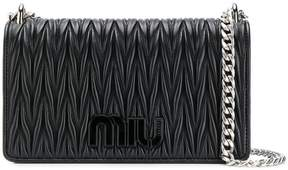 Miu Miu Miu logo quilted bag