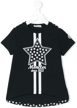 Moncler star patch T-shirt