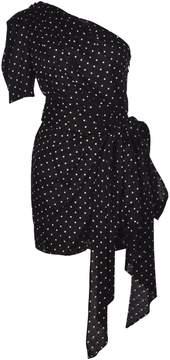 Alexandre Vauthier Alexander Vauthier One-shoulder Polka Dot Mini Dress