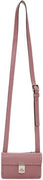 Valentino Pink Garavani Mini Stud Stitching Bag