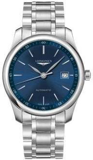 Longines Master Collection Stainless Steel Automatic Bracelet Watch