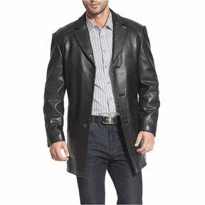 Asstd National Brand Carter Leather Car Coat Big