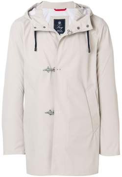 Fay toggle raincoat