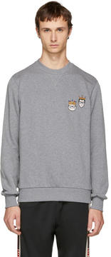 Dolce & Gabbana Grey King Designers Sweatshirt