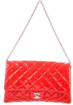 Chanel Quilted Patent New Clutch