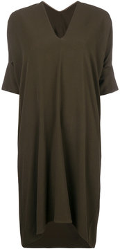 Masnada v-neck T-shirt dress