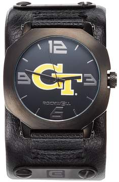 Rockwell Kohl's Georgia Tech Yellow Jackets Assassin Leather Watch - Men