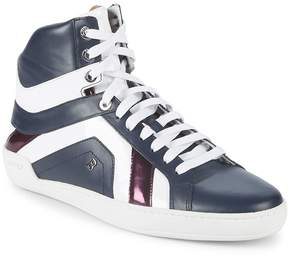 Bally Men's Eticon Leather High-Top Sneakers