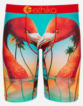Ethika Flamingo Island Staple Mens Boxer Briefs
