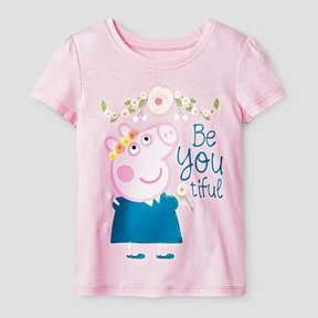 Peppa Pig Toddler Girls' BeYOUtiful T-Shirt - Pink