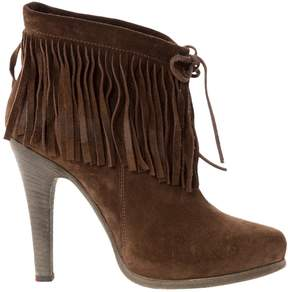 Barbara Bui Brown Suede Ankle boots