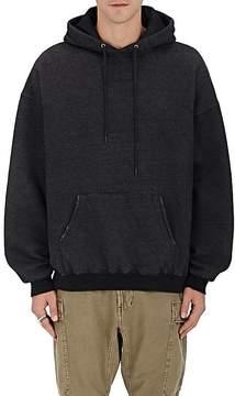 R 13 Men's Distressed Cotton Fleece Hoodie