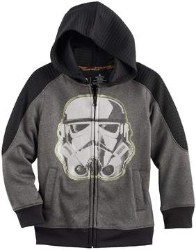 Disney Boys 4-7x Star Wars a Collection for Kohl's Stormtrooper Zip Hoodie