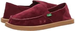 Sanuk Donna Velvet Women's Slip on Shoes