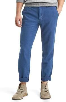 Gap Vintage indigo slim fit pants