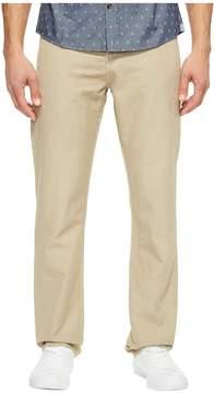 AG Adriano Goldschmied Graduate Tailored Leg Linen Pants in Sulfur Desert Stone Men's Casual Pants