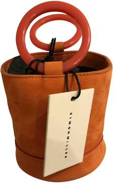 Simon Miller Orange Suede Handbag