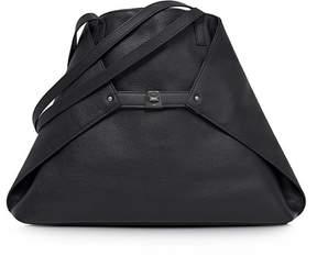 Akris Ai Medium Cervo Tote Bag, Black