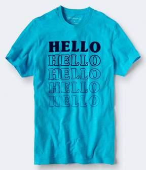 Aeropostale Hello Hello Graphic Tee