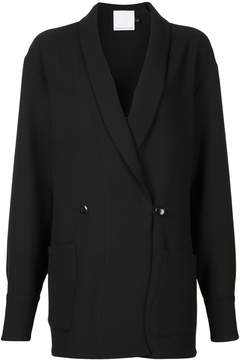 CHRISTOPHER ESBER oversized tuxedo cuffed jacket