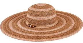 San Diego Hat Company Women's Ultrabraid Sun Brim Hat With Beaded Trim Ubl6489.