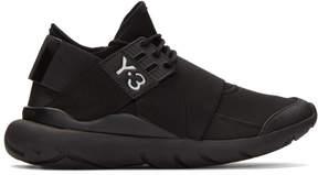 Y-3 Black Qasa Elle Sneakers