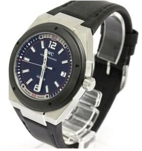 IWC Ingenieur Stainless Steel & Leather Automatic 44mm Mens Watch
